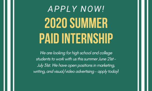 2020 summer paid internship (1)