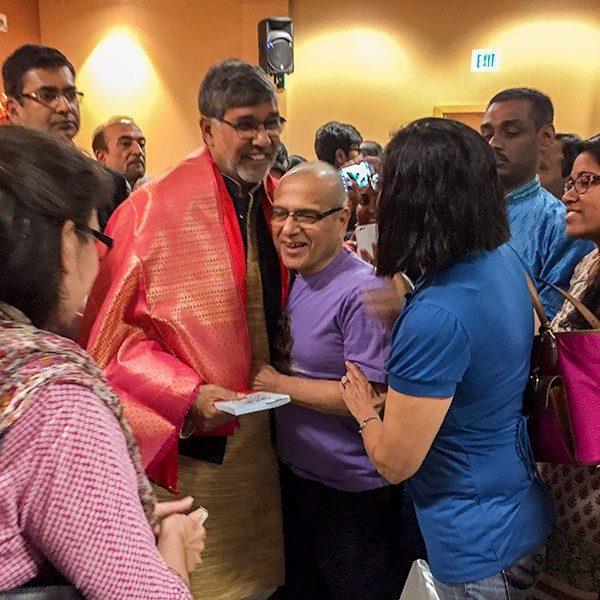 Dr Kailash Satyarthi and Vijay Dixit