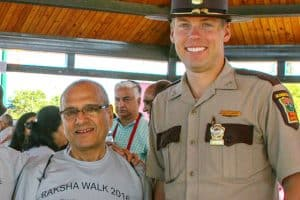 Vijay Dixit and Col. Matt Langer