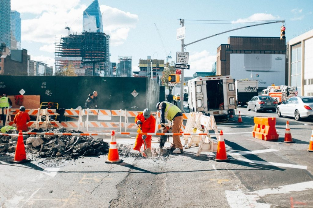 road construction photo