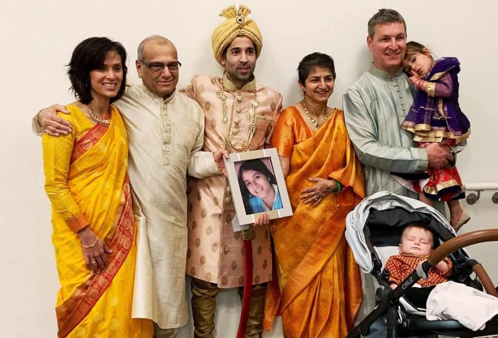 Shreya Dixit did not attend her cousin Rohit's wedding on April 20, 2019, because a distracted driver's irresponsible action caused a crash killing Shreya on the spot. Sia and Bodhi will never get to hug their Shreya Masi. The Dixit family is trapped for life — in a well of grief. Distracted driving does not discriminate, it is an Equal Opportunity Killer.